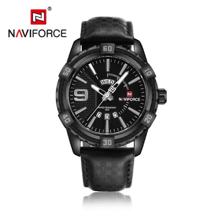 NAVIFORCE 9117  Men Casual Watch – Black