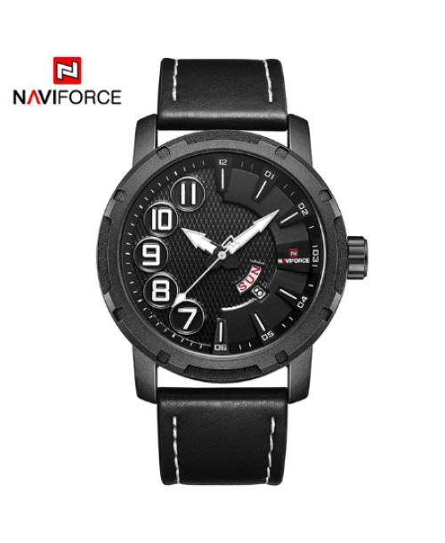NAVIFORCE 9154  Men Casual Watch – Black