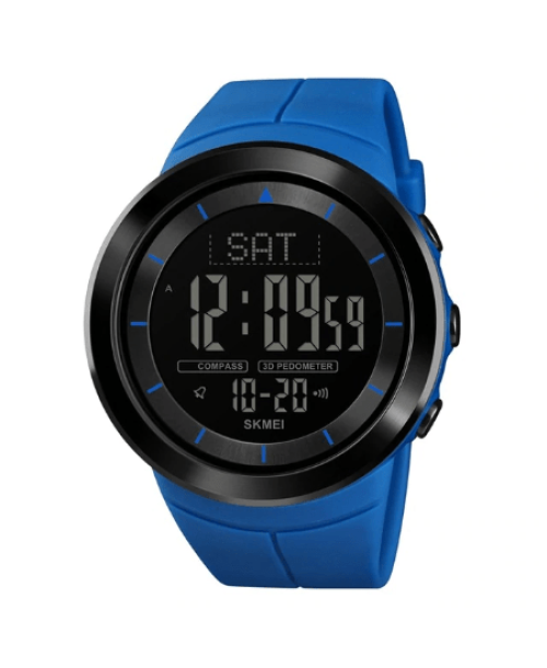 SHMEI 1402 Men Sports Digital Watch – Blue