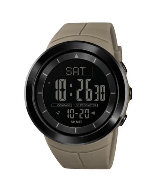 SHMEI 1402 Men Sports Digital Watch – Khaki
