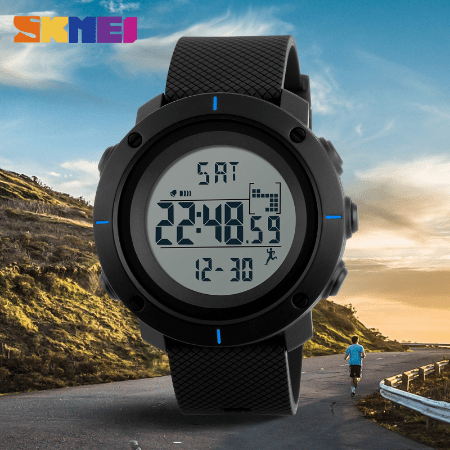 SKMEI 1212 Military Digital Watch – Blue