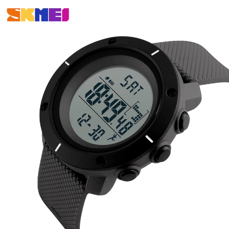SKMEI 1212 Military Digital Watch – Grey