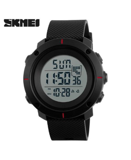 SKMEI 1212 Men Digital Militry Watch – Red