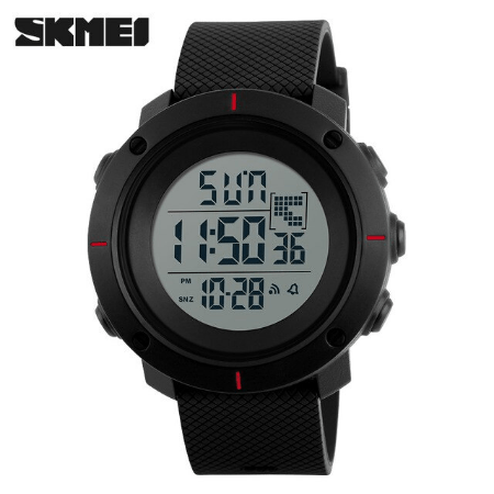 SKMEI 1212 Men Digital Militry Watch – Red