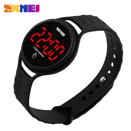 SKMEI 1230 Ladies Simple Touch Watch – Black