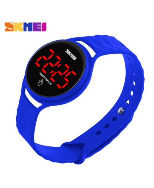 SKMEI 1230 Ladies Simple Touch Watch – Blue