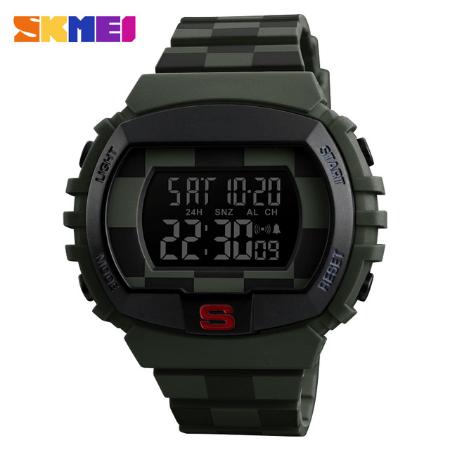 SKMEI 1304 Fashion Multifunction Sports Digital Watches – Green