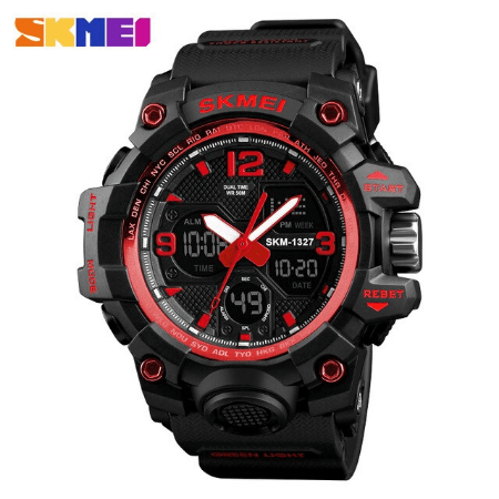 SKMEI 1327 Outddoor Digital Watch – Red