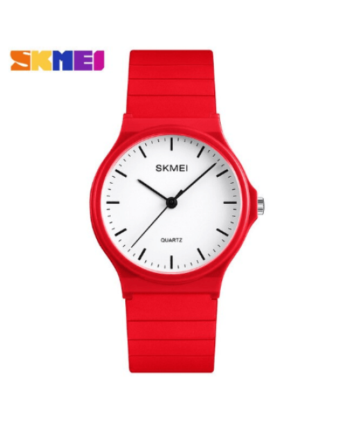 SKMEI 1419 Women Simple Casual Quatrz Watch – Red