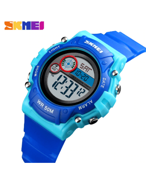 SKMEI 1477 Kids Sports Watch – Blue