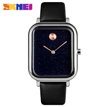 SKMEI  9187 Luxury  Women Quartz Watch Starry Sky – Black