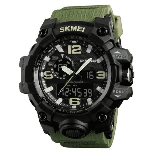 SKMEI 1155 Men Sports Digital Watch Green