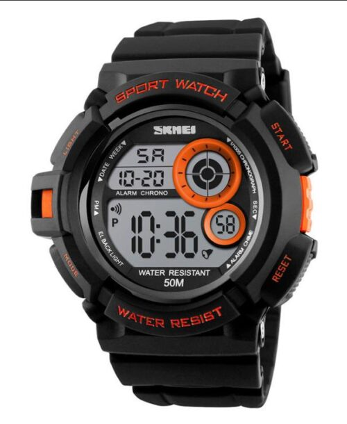 SKMEI 1222 Digital Sports Watch  50M – Orange