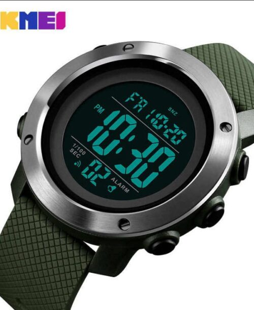 SKMEI 1416 Military Digital Watch – Green