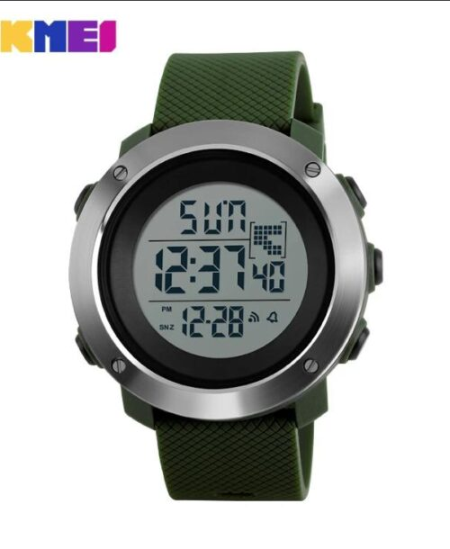 SKMEI 1167 Men  Military LED Digital Watch  50M – Green