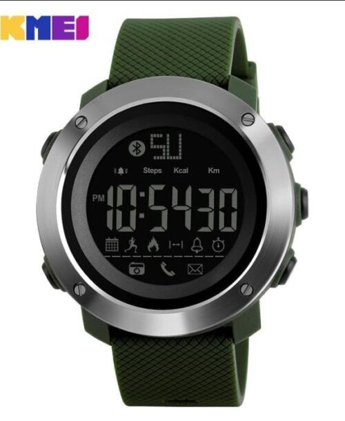 SKMEI 1287 Bluetooth Smart Digital Watch – Green