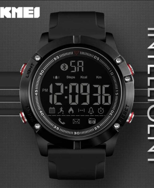 SKMEI 1425 Bluetooth Smart Digital Watch – Black
