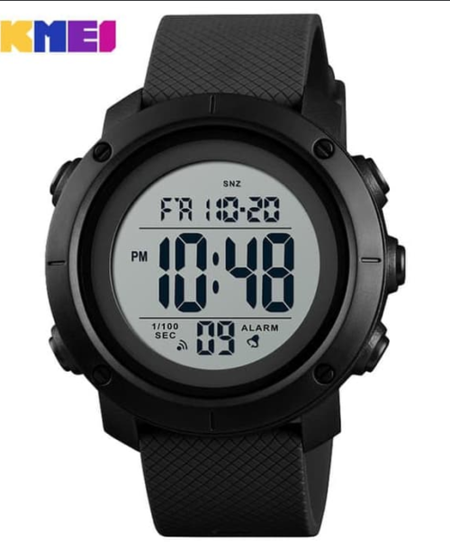 SKMEI 1426 Military Digital Watch – Black White