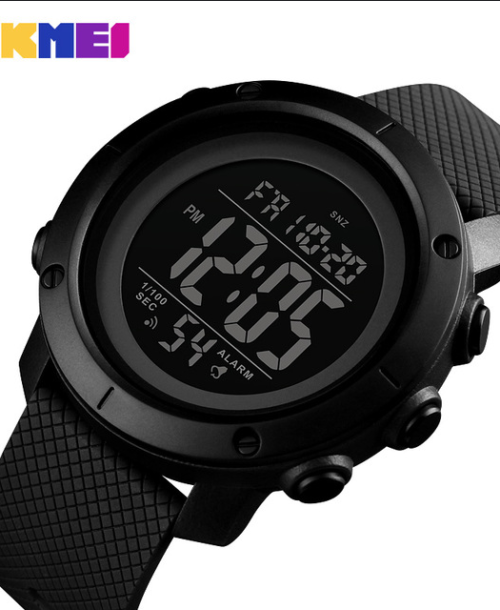 SKMEI 1434 Military Digital Watch – Black