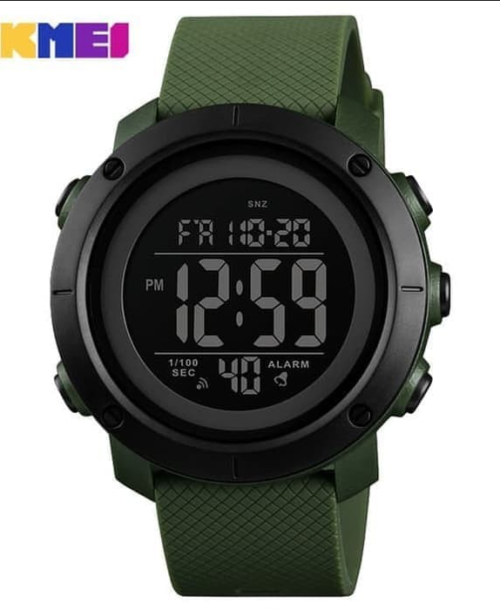 SKMEI 1426 Military Digital Watch – Green B