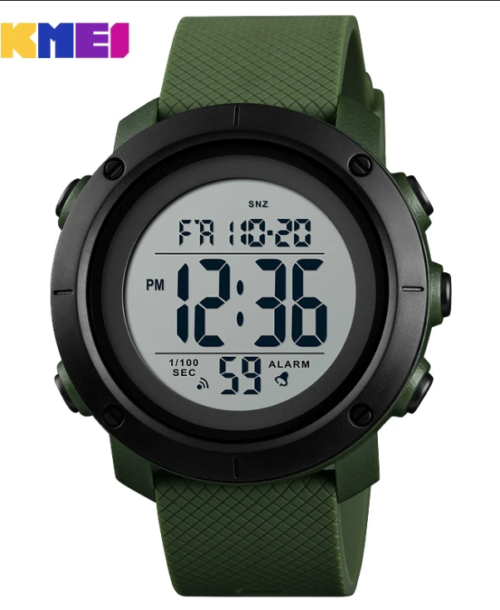 SKMEI 1426 Military Digital Watch – Green W