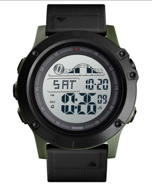 SKMEI 1476 Sports Digital Watch – Green