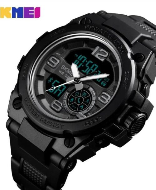 SKMEI 1517 Bluetooth Smart Digital Watch – Black