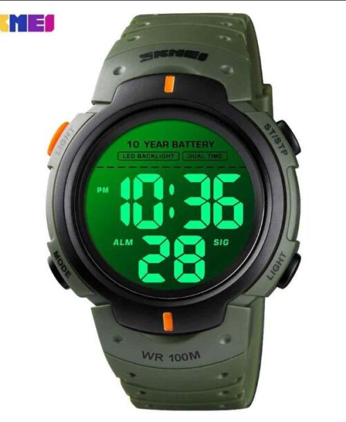 SKMEI 1560 Sports Digital Watch – Green
