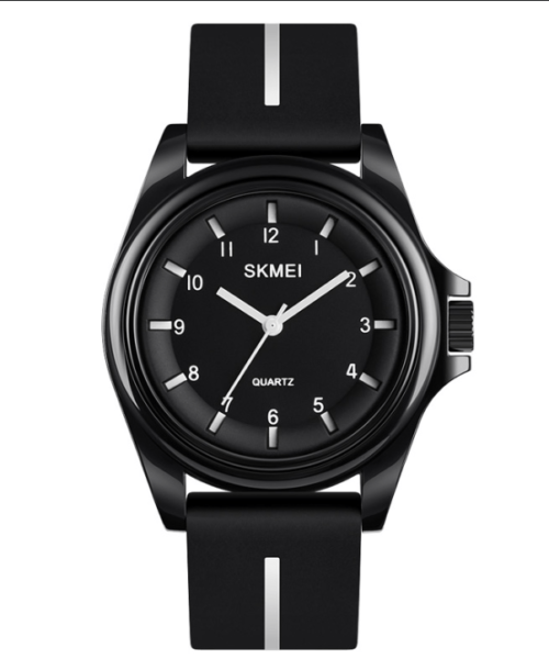 SKMEI 1578 Analog 5Bar Waterproof Watch – Black
