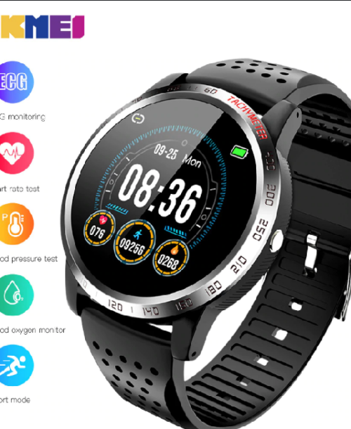 Smart Life W3 Smart Watch – Black